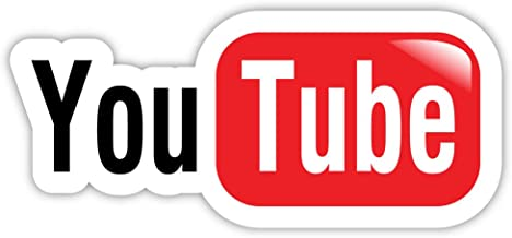 YouTube You Tube sticker decal 6