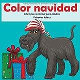 Color navidad - Libro para colorear para adultos - Patrones felices (Navidad 2020!)