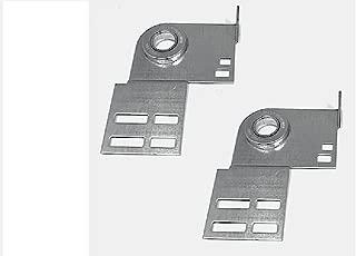 Garage Door End Bearing Plates Brackets ~ One Pair (L&R) ~ Residential Brackets