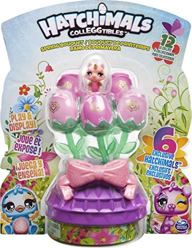 Hatchimals 6054229 Ramo de primavera con 6 coleggibles exclusivos (estilo puede variar), para niños a partir de 5 años, multicolor , color/modelo surtido