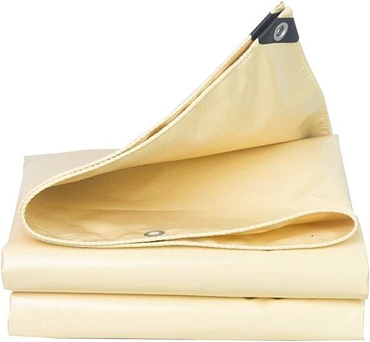 Baches FANJIANI Beige imperméable imperméable à l'eau Prougeection Solaire épaisse Tissu imperméable auvent Tissu Toile Parasol Toile