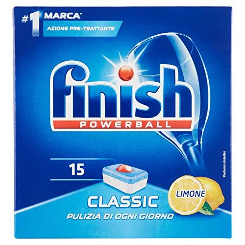 Finish Powerball Classic citroen, 2 verpakkingen à 15 tabs, 558 g, 30 tabs