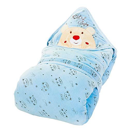 HS-01 Herfst En Winter Baby Slaapzak, Dik Katoen Slaapzak, Anti-schokkende Slaapzak, Kinderen Wrap Handdoeken, 0-12 Maanden