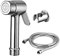 Kamal Health Faucet Lever - with SS Flexible Tube 1.5 Mtr