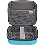 BOVKE for Bose Soundlink Color Wireless Speaker Bose Soundlink Color II UE ROLL 360 Hard EVA Shockproof Carrying Case Storage Travel Case Bag Protective Pouch Box, Blue