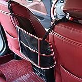 Sairis Universalselbst hängendes Speicher-Beutel Multifunktionsauto Ineinander greifen Zurück Back Bag Taschen Auto Lagerung Taschen Debris