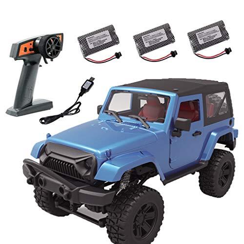 Wr 2.4G 1:14 Buggy de Control Remoto inalámbrico, Cuatro Ruedas motrices RC Rock Crawler Car 4WD Off Road Vehicle Car Model Toy, Regalo de cumpleaños para niños
