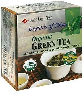 UNCLE LEE'S TEA Legends Of China Organic Green Tea