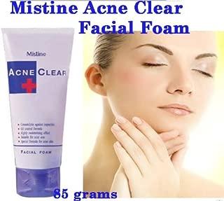 Mistine Acne Scar Clear Oil Blemish Control Facial Foam Face Wash