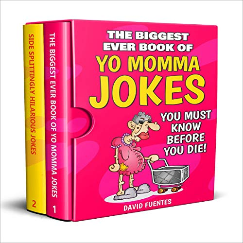 Couverture de The Biggest Ever Book of Yo Momma Jokes You Must Know Before You Die!