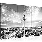 Runa Art Berlin Fernsehturm Bild Wandbilder Wohnzimmer XXL