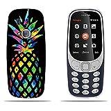 DIKAS Coque pour Nokia 3310 (2017), 3D Ultra Transparent Silicone en Gel TPU Souple Housse Etui Coque de Protection avec...