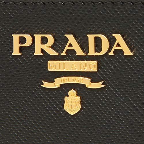[プラダ]キーケースコインケースサフィアーノキーリングレディースPRADA1PP122QWA(1)NERO(F0002)ブラック[並行輸入品]
