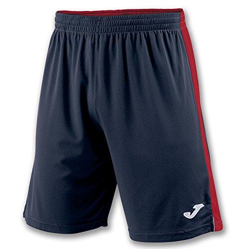 Joma Tokio II Pantalones Cortos, Hombre, Multicolor (Marino/Rojo), L