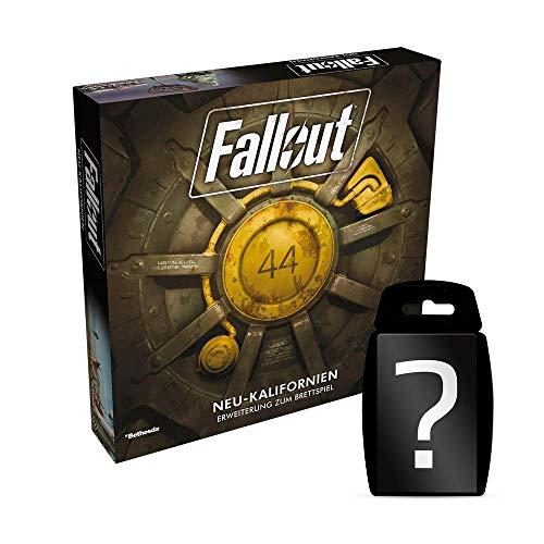 Fallout: Das Brettspiel - Neu-Kalifornien - Erweiterung | DEUTSCH | Set inkl. Kartenspiel
