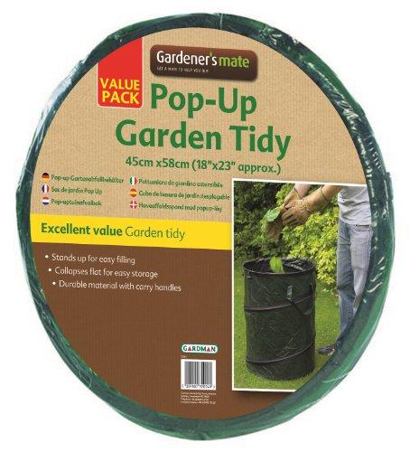 Gardman 34581 Grande Poubelle de Jardin Dépliante 47 x 47 x 5 cm