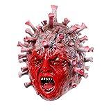Máscara de Halloween Capucha de Virus de Látex Accesorios Anti-Epidemia Máscara de Formación de...