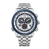 [Citizen] 腕時計 プロマスター SKYシリーズ ブルーインパルス 限定モデル1,000本 CB5867-79A メンズ シルバー