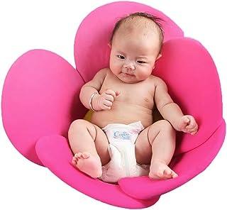 Baby Bathtub Newborn Baby Boys Girls Foldable Soft Flower Petal Shape Bathtub Pad Support Cushion Mat Floating Cushion