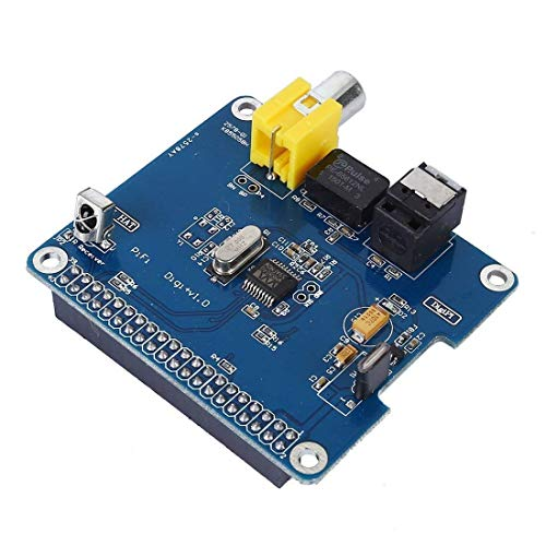 UIOTEC SC07 Raspberry Pi HiFi DiGi+ Digital Sound Card I2S SPDIF Optical Fiber for Raspberry pi 3 2 Model B B+*