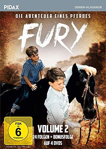Fury - Die Abenteuer eines Pferdes, Vol. 2 / Weitere 24 Folgen der Kultserie + Bonusfolge (Pidax Serien-Klassiker) [4 DVDs]