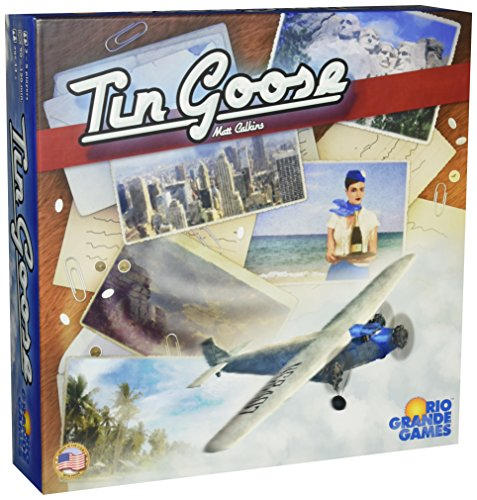 Tin Goose Board Game by Rio Grande Games
