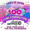 Original Stationery Slime Kit Unicornio Completo - Todo en una caja para que los niños y niñas hagan Slime - Suplementos para Slime de Unicornios, Purpurina, Arcilla Blanda, Plastilina, Floam Rosa #4