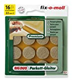 Ritterrath 3566001 Big-Duo Parkettgleiter 22mm 16 Stück
