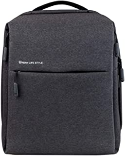 Original Xiaomi Backpack Urban Life Style Shoulders Bag Rucksack Daypack School Bag Duffel Bag Dark gray