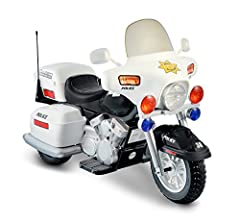 2 forward speeds (2.5 and 5.0 MPH) and 1 reverse (2.5 MPH) Hand accelerator, Headlight, Harzard and Signal lights Weight capacity of the vehicle is 110 pounds and storage at the back Sideview mirrors, Chrome detail 12V rechargeable battery and charge...