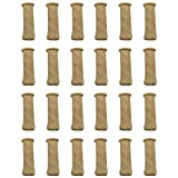 qipuneky 24pz Calcetines para Silla Elásticos para Mesa Muebles, Unidades Calcetines de la Pierna de Punto Protectores Antideslizantes para Pisos Cubierta para Anti Scratch