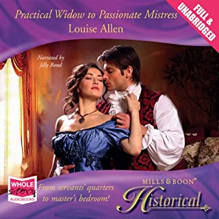 Practical Widow to Passionate Mistress audiobook cover art