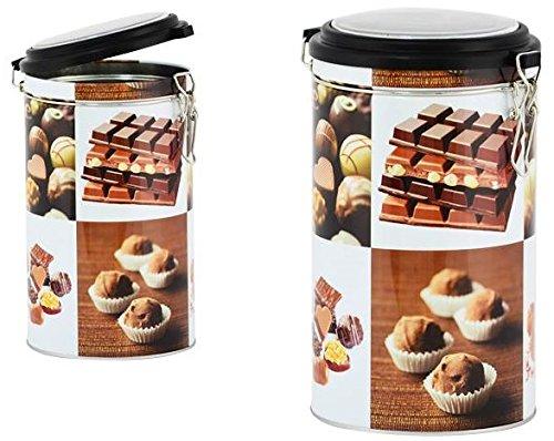 AVENUELAFAYETTE Boîte Pot hermétique métal Chocolat