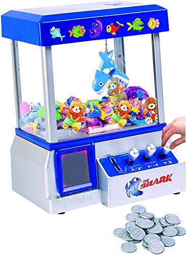 The Shark Arcade Claw Game Machine for Kids of All Ages (includes...