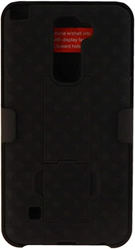 new arrival Verizon high quality Shell Holster Combo with Kickstand for LG Stylo 2 V discount - Black online sale