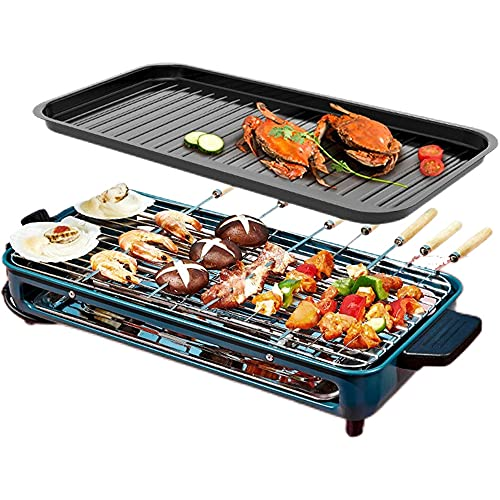 Multi-function electric grill portable electric grill large capacity smokeless barbecue tool practical and convenient for barbecue dinner