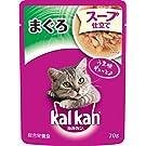 カルカン パウチ スープ仕立て 成猫用 1歳から まぐろ 70g×16袋 (まとめ買い) [キャットフード]