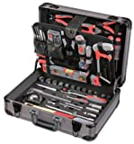 Tixit Aluminium-Werkzeugkoffer Mechaniker 120-teilig, 60600