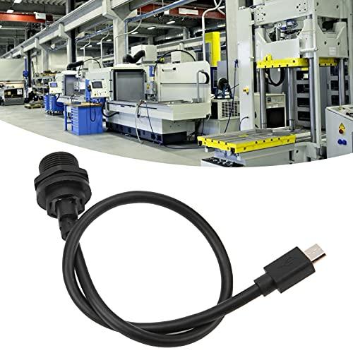 USB-kontakt, vattentät USB-kontakt E10MC-TF ? F/MC ? A-M IP67 för mekanisk utrustning för IOT-utrustning för utomhusutrustning(0.3M, Pisa Leaning Tower Type)