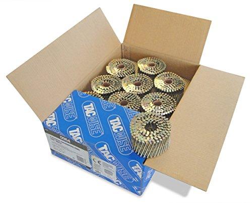 Tacwise 0964 Nagelspule Ring Geradflächig Verzinkt (2,8/64mm ,4.000 Stück pro Verpackung)
