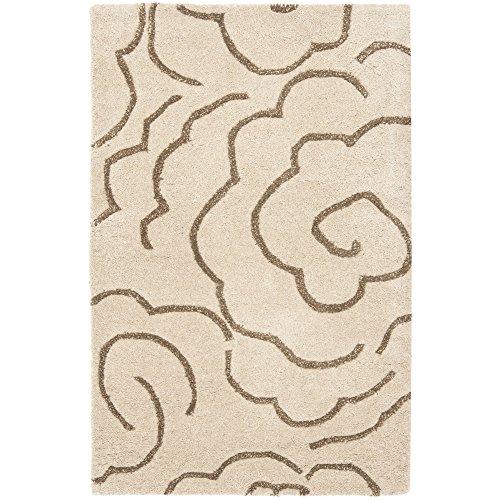 Safavieh Soho Collection SOH812E - Alfombra hecha a mano de lana y viscosa, 2 x 3 pies, color beige y multicolor