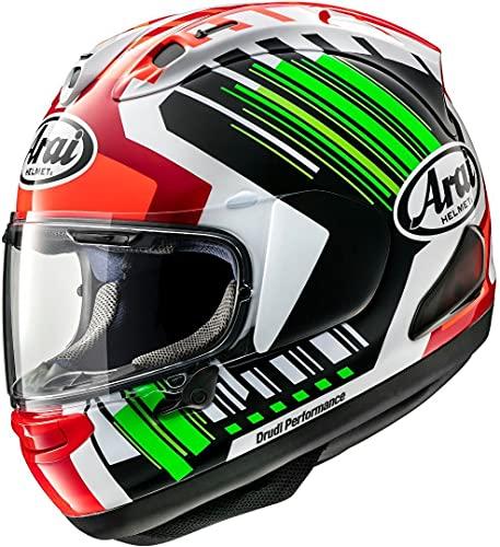 Arai RX-7V Rea Verde Casco Da Moto Integrale Taglia XS