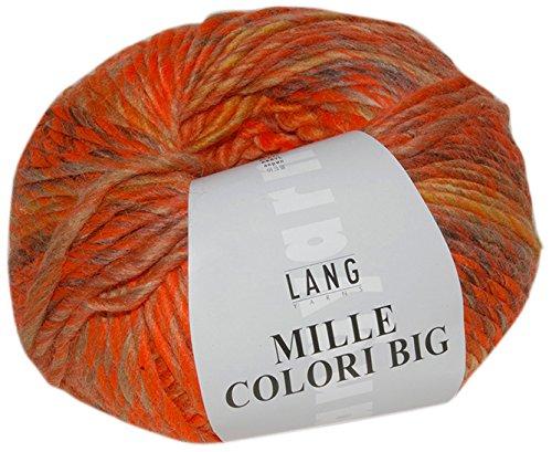 Lang Yarns Mille Colori Big 59, Neon Orange