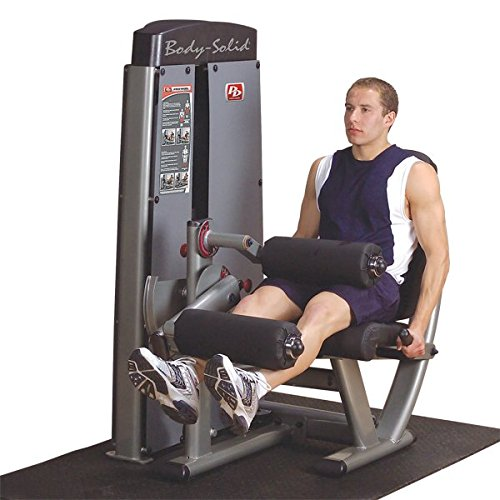 Body-Solid DLEC-SF Pro Clubline Pro Dual Leg Extension and Curl Machine