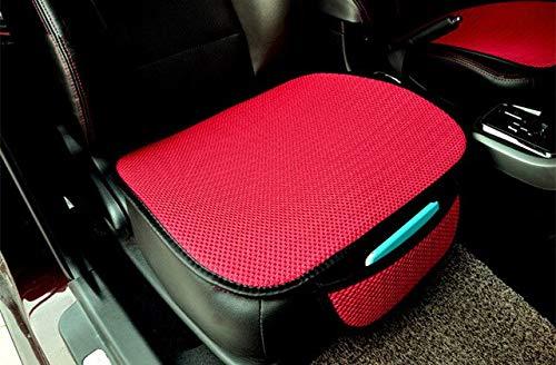 YBINGA Funda para asiento de coche, cojín para asiento de coche, funda protectora para silla de coche, juego de cojines para asiento de coche, funda para asiento de coche (color: negro)