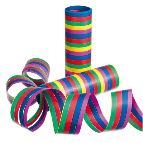 Susy Card slingers Motief: strepen beidseitig 6-er Papier kleur