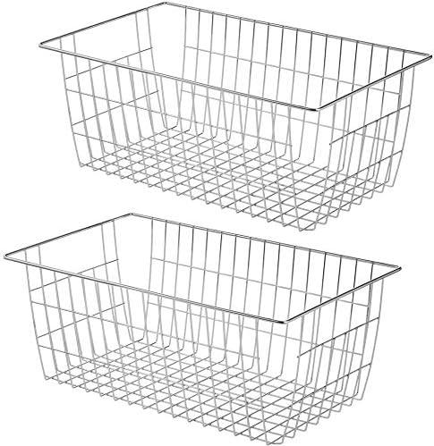 blitzlabs Wire ! Super beauty product restock quality top! Storage Baskets Organi Bin Albuquerque Mall Organizer Refrigerator