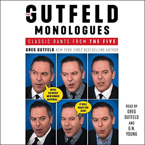 The Gutfeld Monologues audiobook cover art