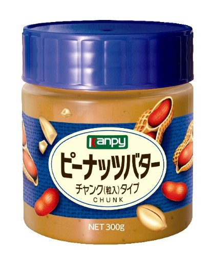 ピーナッツバターチャンク300g