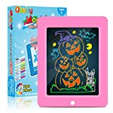 Obuby 【2020 Upgraded】 Kids Magic Glow Pad Light Up Drawing Board with 9 Light Effect LED Draw...